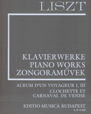 Liszt Ferenc: Album d'un Voyageur (Supplement 5) fűzve