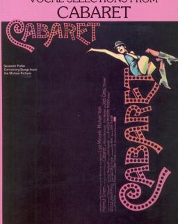 Cabaret válogatás kotta -  ének, zongora, gitár