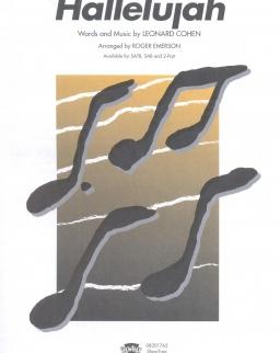 Leonard Cohen: Hallelujah - kórusra, zongorakísérettel