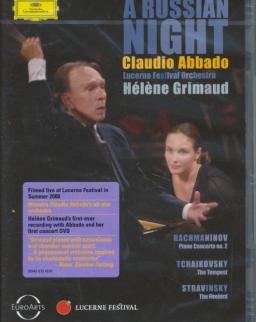 A Russian Night - DVD - Lucerne Festival, 2008