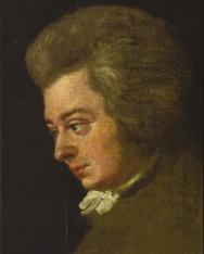 Képeslap Mozart