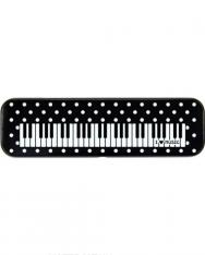 Tolltartó - fém, klaviatúrás+pöttyös