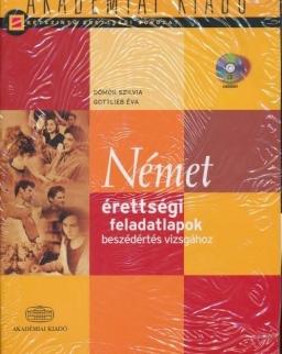 Német érettségi feladatlapok beszédértés vizsgához +CD