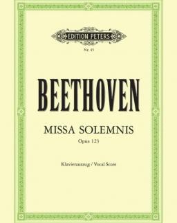 Ludwig van Beethoven: Missa Solemnis - zongorakivonat