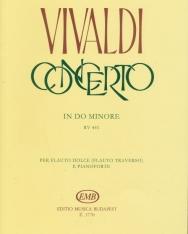Antonio Vivaldi: Concerto for Flute c-moll
