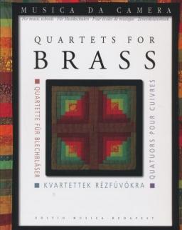 Perényi: Kvartettek rézfúvókra