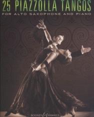 Astor Piazzolla: 25 Tangos - alt szaxofonra zongorakísérettel