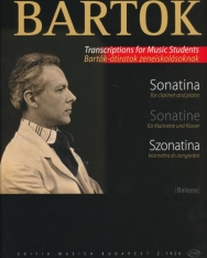 Bartók Béla: Szonatina - klarinét-zongora
