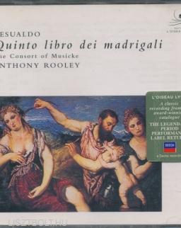 Gesualdo: Quinto libro dei madrigali a cinque voci (1611)