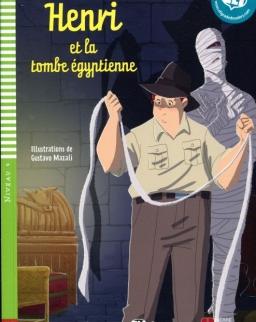 Henri et la tombe égyptienne - ELI Lectures  Poussins Niveau 4 (A2)