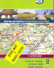 Hungary road map and travel guide