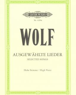 Hugo Wolf: Ausgewählte Lieder (hohe)