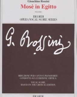 Gioachino Rossini: Mose in Egitto - zongorakivonat (angol, olasz)