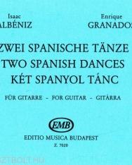 Albéniz - Granados: Két spanyol tánc gitárra