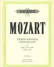 Wolfgang Amadeus Mozart: Violin Sonatas II. (K.296,376-380,402,403)