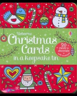 Christmas Cards in a Keepsake Tin