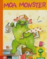 Moa Monster - Lättläst