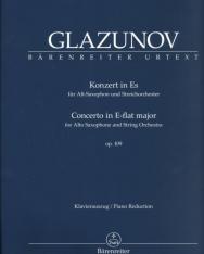Alexander Glazunov: Concerto (Esz-dúr) - alt szaxofonra, zongorakísérettel