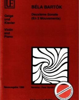 Bartók Béla: Sonata for Violin 2.
