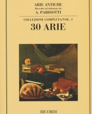 Alessandro Parisotti: Arie Antiche - 30 Arie vol. 1.