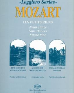 Wolfgang Amadeus Mozart: Les petits riens (leggiero sorozat, ifjúsági vonószenekarra)