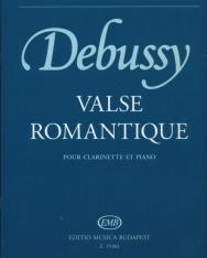 Claude Debussy: Valse romantique pour clarinette et piano