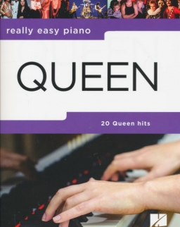 Queen: 20 Hits - Really easy piano (ének-zongora)