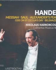 Georg Friedrich Händel: Great Oratorios - 9 CD
