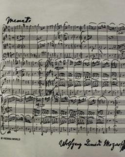 Póló - Mozart fehér M
