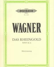 Richard Wagner: Das Rheingold - zongorakivonat (német)