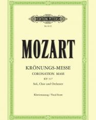 Wolfgang Amadeus Mozart: Krönungs - Messe - zongorakivonat