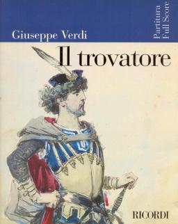Giuseppe Verdi: Il Trovatore - partitúra