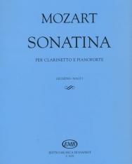 Wolfgang Amadeus Mozart: Szonatina klarinétra