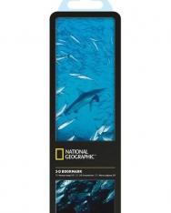 National Geographic 3-D Bookmark - Galápagos Shark and Salemas