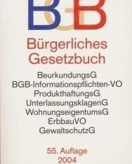 Bürgerliches Gesetzbuch 55. Auflage 2004