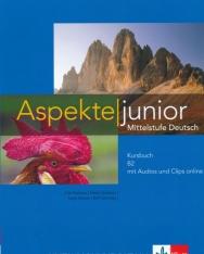 Aspekte junior B2 Kursbuch mit Audios und Clips online