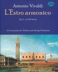 Antonio Vivaldi: L'estro Armonico Op.3. - Partitúra
