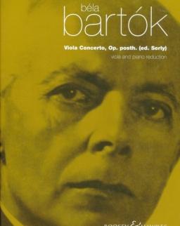 Bartók Béla: Brácsaverseny, Op. posth. (Serly Tibor - William Primrose)