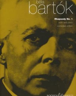 Bartók Béla: Rhapsody 1. hegedűre