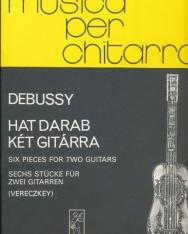 Claude Debussy: Hat darab (két gitárra)
