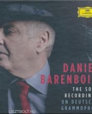 Daniel Barenboim's Solo Recordings on Deutsche Grammophon - 39 CD