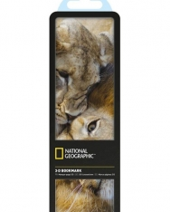 National Geographic 3-D Bookmark - African Lions
