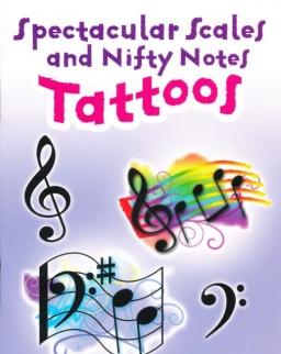 Spectacular Scales and Nifty Notes Tattoos (zenés tetoválások)