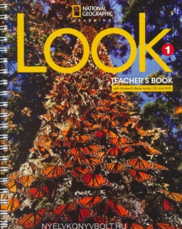 Look 1 Teacher's Book with Student's Book Audio CD and DVD