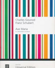 Charles Gounod/Franz Schubert: Ave Maria - altfurulyára, zongorakísérettel