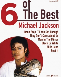 Michael Jackson: 6 of the Best (ének-zongora-gitár)