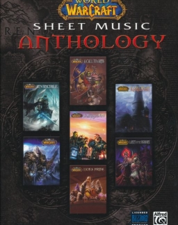 World of WarCraft Sheet Music Anthology (ének-zongora)