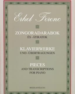 Erkel Ferenc: Zongoradarabok és átiratok