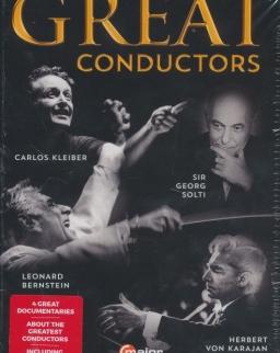 Great Conductors 4 DVD - Carlos Kleiber, Sir Georg Solti, Leonard Bernstein, Herbert von Karajan