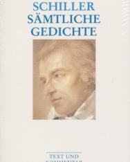 Friedrich Schiller: Sämtliche Gedichte